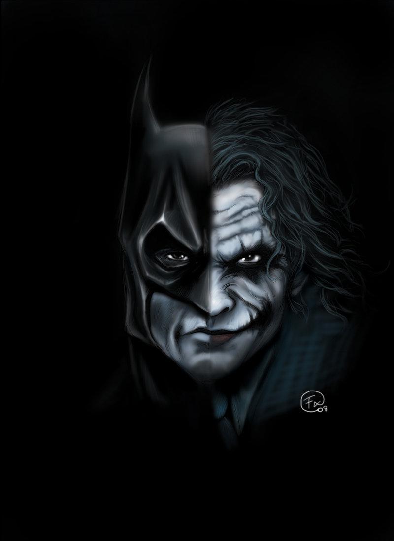 The joker realheavyshit socio cultural swimming in a - Batman contre joker ...